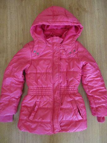 Czerwona zimowa kurtka Cool Club roz. 134