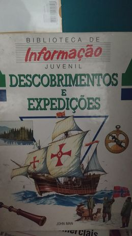 Livro sobre Descobrimentos e Expedições