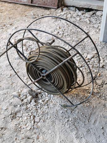 Rolo cabo em aço (approx 50m)
