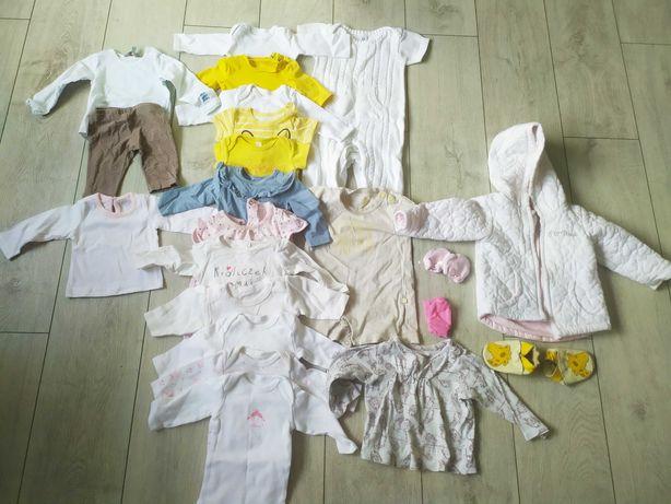 Zestaw ubranek dla dziewczynki roz. 50-62
