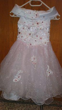 Платье нарядное р.104-110