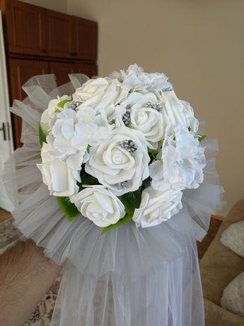 Атрибут на весільний кортеж, букет