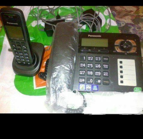 Цифровой беспроводной телефон с автоответчиком.