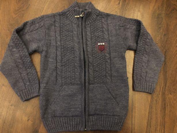 Sweter rozpinany 5/6 lat idealny