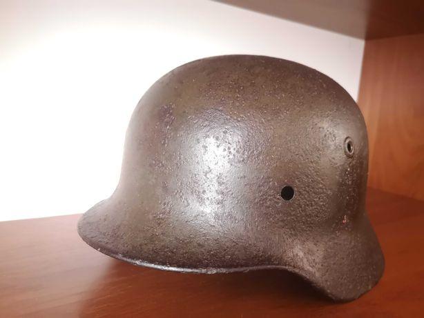 каска немецкая М40, Вермахт