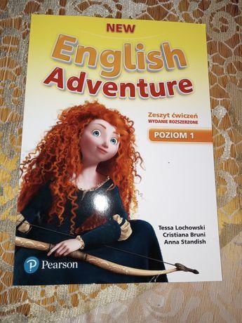New English Adventure zeszyt ćwiczeń