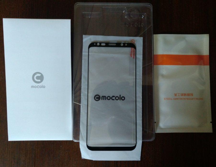 Samsung Galaxy S9 защитное стекло Mocolo полная проклейка