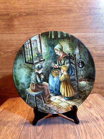 Фарфоровое блюдо Delft