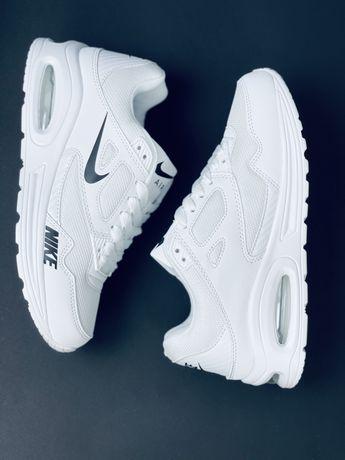 Новинка 2021 Nike Air Max 90 кожаные красовки шкіряні кросівки