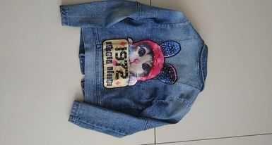 Ramoneska jeansowa 116