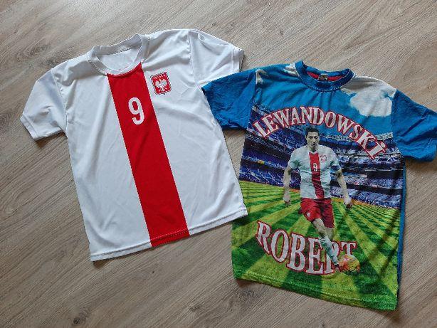 Ubrania dla chlopca 158 spodenki koszula spodnie koszulka Lewandowski