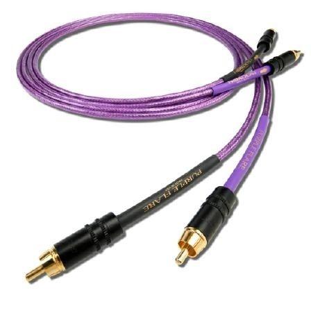Nordost PURPLE FLARE - Interkonekt stereo RCA - 1m Trans Audio Hi-Fi