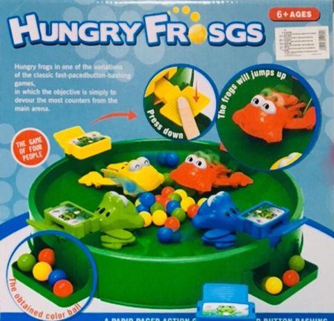Gra Głodne Żabki dla Dzieci Zabawka