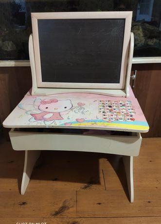 Детский стол  парта  с доской