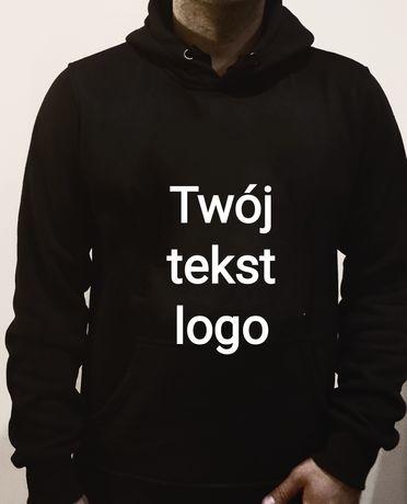 Bluza męska z kapturem personalizowana /logo