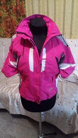 Курточка детская розовая осень скоро