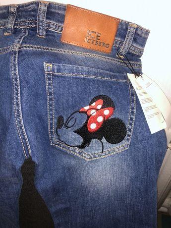 Новые джинсы на девочку подростка 28 р с биркой на бедра 82 см