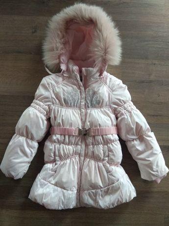Зимнее пальто куртка пуховик