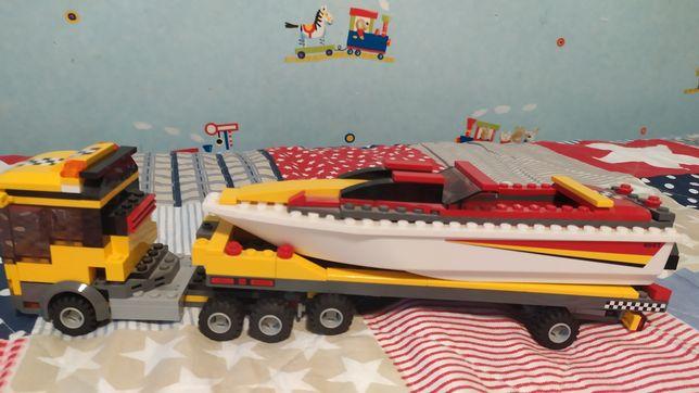 Lego Лего грузовик с лодкой