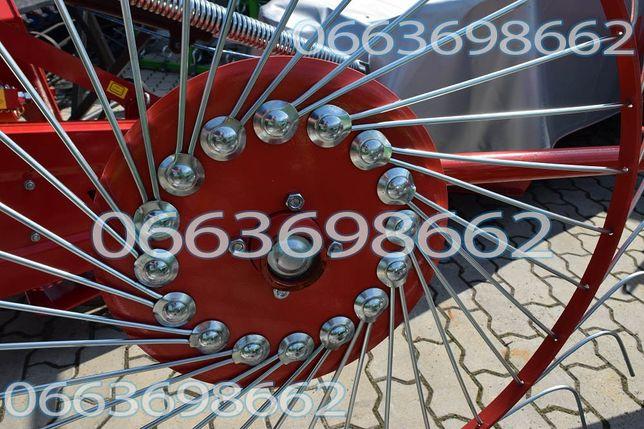 Польські граблі Грабли ворошилки 4 колеса Солнышко Борона Оприскувач
