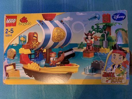 Lego Duplo Jake i piraci z Nibylandii 10514 plus inne Duplo