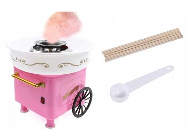 Domowa maszyna do waty cukrowej
