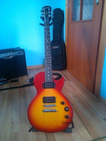 gitara elektryczna ze wzmacniaczem