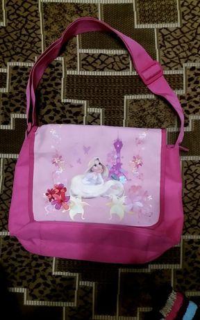 сумка Disney Рапунцель через плечо размеры 32см*25,5см*9см