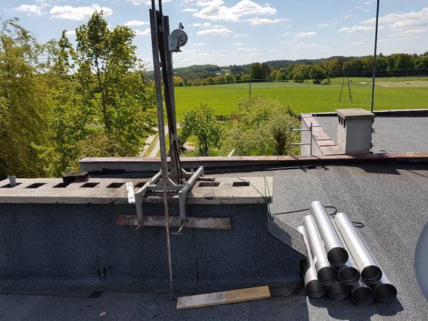 Wkłady nierdzewne do gazu węgla eko groszku komin stalowy FREZOWANIE