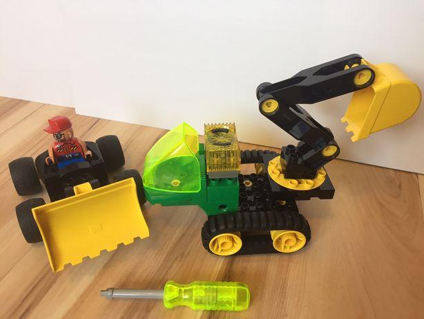 Lego Duplo Toolo 2913 Koparka Spych sygnał świetlno-dźwiękowy Unikat