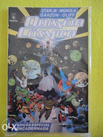 """Vendo revista bd DC   """"  odisseia cÓsmica"""