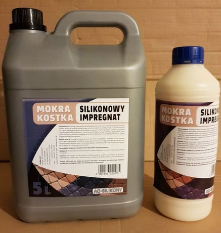 Mokra Kostka - silikonowy impregnat do kostki brukowej opak. 5l