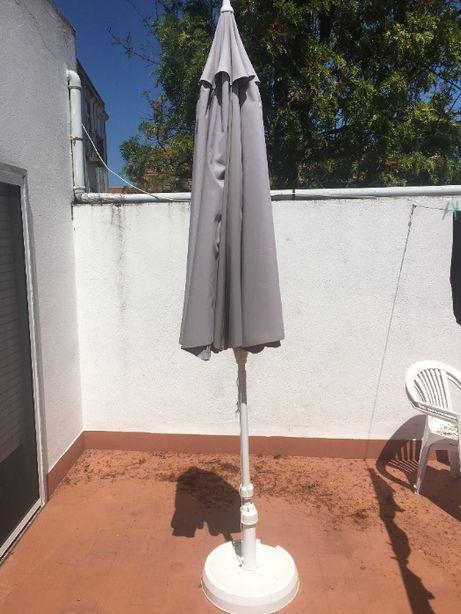 Chapéu de Sol / Guarda Sol - Exterior - Manivela (avariada)