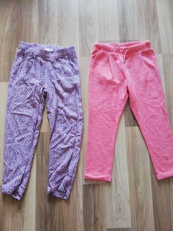 Spodnie dla dziewczynki 110/116