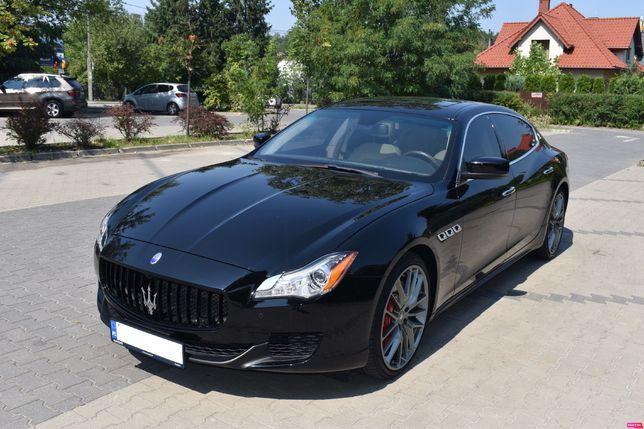 Auto do ślubu Luksusowe Maserati Quattroporte
