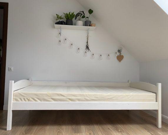 Łóżko drewniane 90x200 + materac