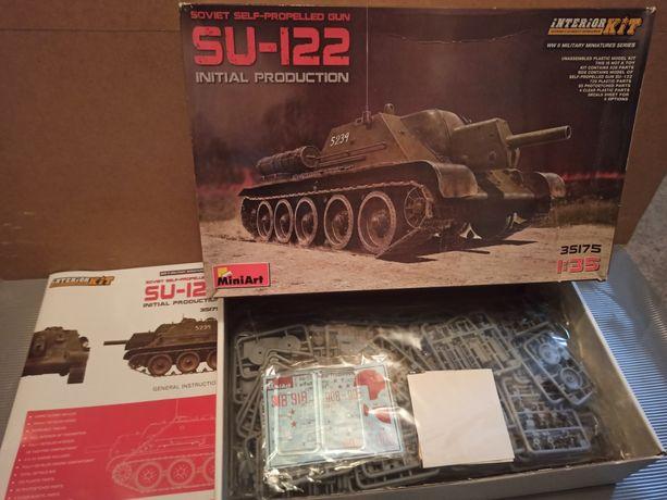 Model plastikowy do sklejania SU122 Miniart 1/35