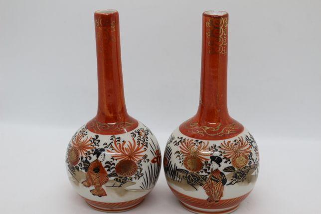 Par de Piveteiros em porcelana oriental séc. XIX período Meiji