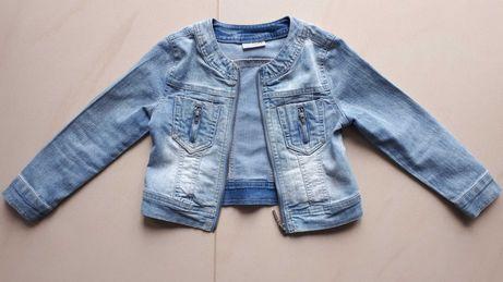 Kurtka dziecięca dziewczęca dżinsowa jeansowa Coccodrillo r.110 5 lat