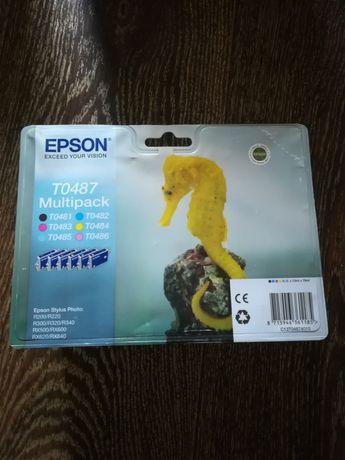 Продам набор картриджей Epson t0487
