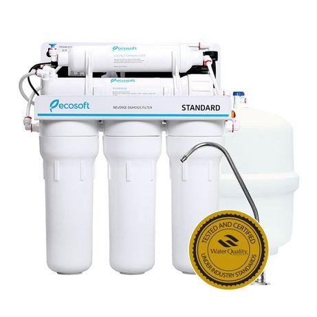 Ecosoft Standart 5-50P с помпой (система обратного осмоса)
