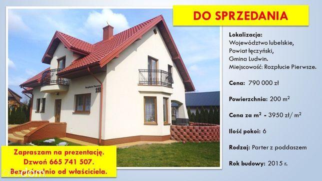 Dom na sprzedaż blisko Jeziora Piaseczno