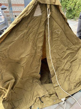 Палатка туристическая  брезентовая 2-3 местная СССР