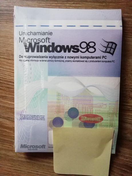 Oryginalny nowy Microsoft Windows 98