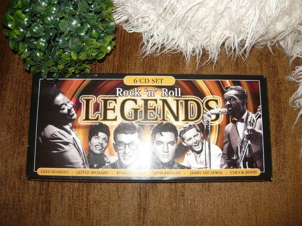 Płyta kompaktowa CD 6 szt Legends Rock'n'Roll
