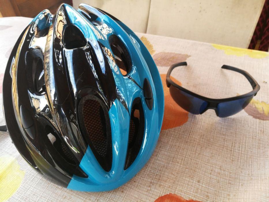 Kask rowerowy Kellys rozmiar L + okulary 3 stopień przyciemniania Radzionków - image 1