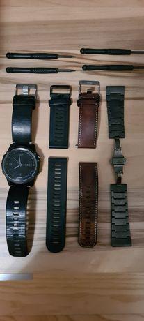 Smartwatch Garmin Fenix 3 Sapphire HR Czarny plus paski gratis