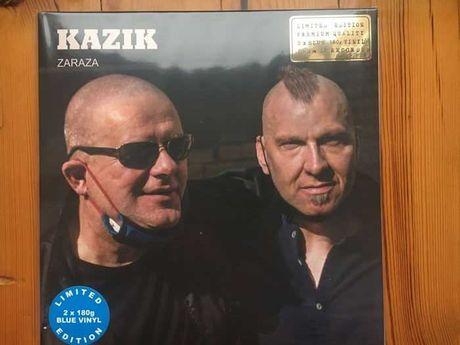 Kazika - ZARAZA 2x Lp kolor niebieski