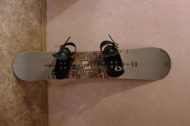 Сноуборд rossignol с креплениями
