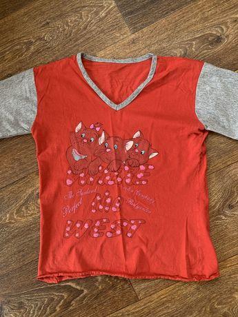 Детская домашняя футболка